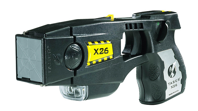 Taser stun gun (Photo: AFP)