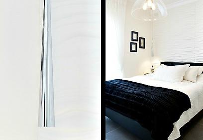 רוגע ויוקרה. חדר השינה (צילום: איה אפרים) (צילום: איה אפרים)