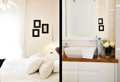 חדר הרחצה שבסמוך לחדר השינה (צילום: איה אפרים) (צילום: איה אפרים)