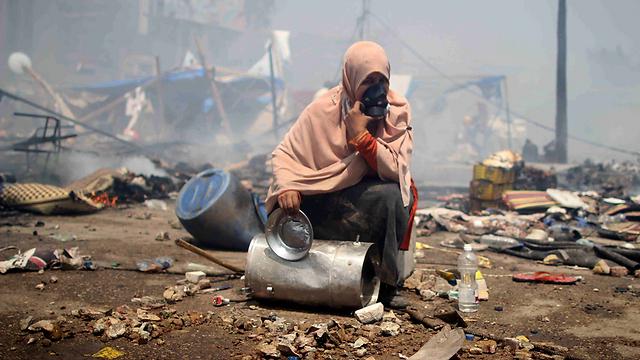 Ruin in Cairo (Photo: EPA)