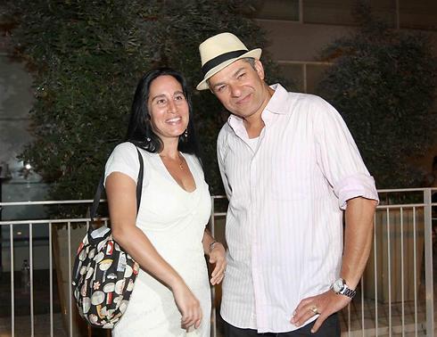 דני שטג ואשתו. גם עושה חתונות (צילום: ענת מוסברג)