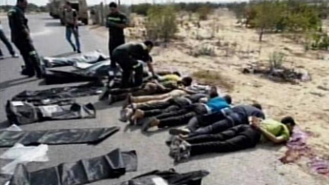 Policemen killed last month (Photo: Reuters)