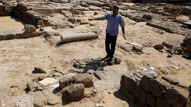 Archaeological findings in Gaza (Photo: AP)