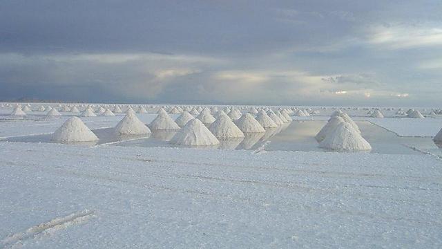 הסלאר - מדבריות המלח בבוליביה (צילום: פלג כהן)
