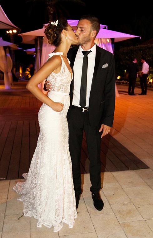 נשואים. שירלי בוגנים ולירן סרוק (צילום: עידו ארז) (צילום: עידו ארז)