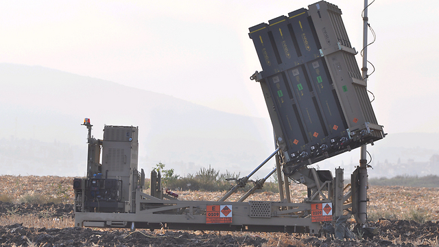 Iron Dome battery in Galilee (Photo: George Ginsburg)