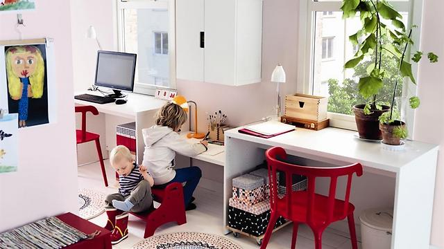 הנושא המוביל בקטלוג 2014: לגור עם ילדים (צילום: איקאה)