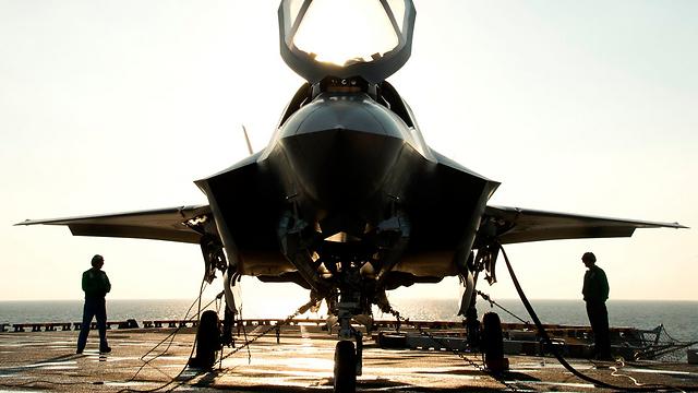 F-35B (צילום: רויטרס) (צילום: רויטרס)