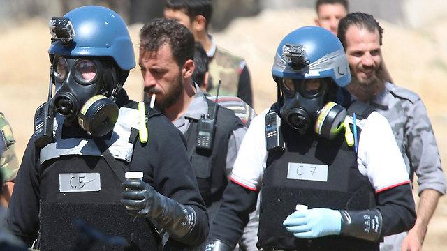 UN inspectors in Damascus (Photo: Reuters) (Phot: Reuters)
