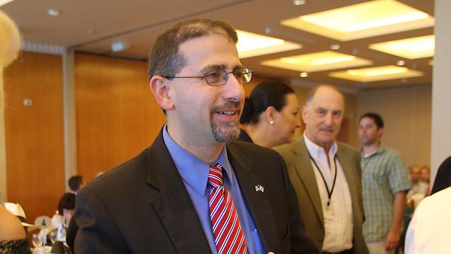 השגריר שפירו באירוע בתל-אביב (צילום: ירון ברנר) (צילום: ירון ברנר)