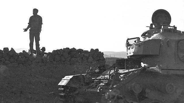 """באותם ימים עדיין לא נולד המושג """"הלם קרב"""" (צילום: טום היימן) (צילום: טום היימן)"""