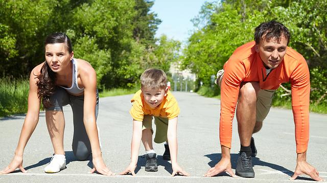 בכל גיל. פעילות גופנית בריאה  (צילום: shutterstock)
