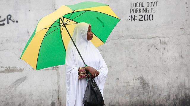 נישואי ילדות אסורים על פי החוק, לאגוס, ניגריה (צילום: AP) (צילום: AP)