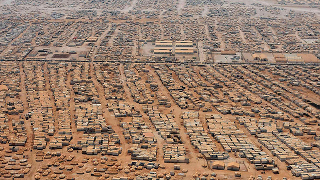 Syrian refugee camp in Jordan (Photo: Reuters) (Photo: Reuters)