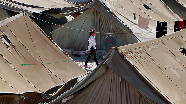 Syrian refugee camp in Lebanon (Photo: AP)