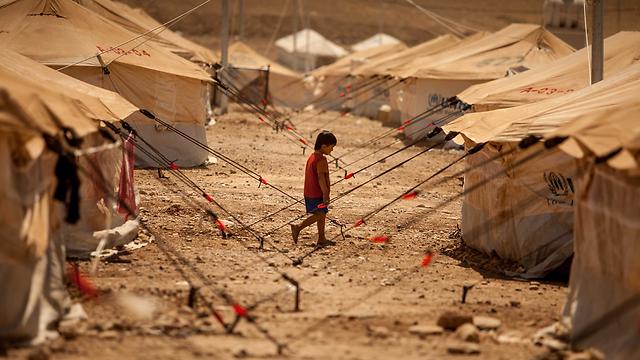 מחנה הפליטים קורו גוסיק בעיראק (צילום: MCT) (צילום: MCT)