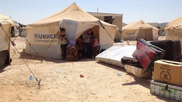 מחנה הפליטים זעתרי בירדן (צילום: MCT) (צילום: MCT)