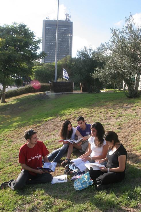 מיזם בינלאומי. אוניברסיטת חיפה (צילום: אלעד גרשגורן)