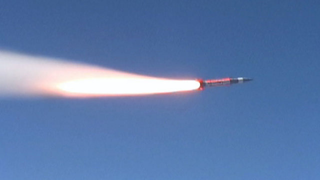 Anchor target missile (Photo: Defense Ministry)