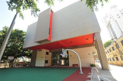בית ספר היובל בתל-אביב (צילום: אליקים אדריכלים)