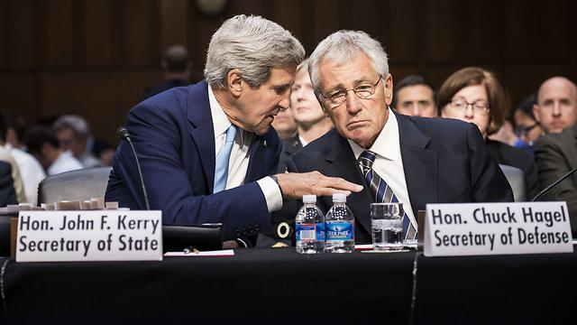 Senatwe hearing over Syria (Photo: AFP) (Photo: AFP)