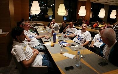 הצוות המקצועי במלון בלובליאנה (צילום: ראובן שוורץ, סלובניה) (צילום: ראובן שוורץ, סלובניה)