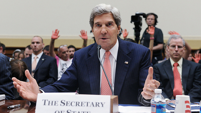 Kerry speaking to US House of Representatives about Syria (Photo: MCT)