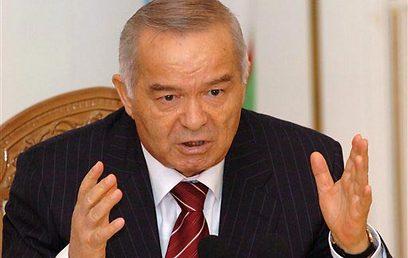 דיכא את הקיצונים, אבל גם הגביל זכויות דמוקרטיות. הנשיא קרימוב (צילום: איי פי)