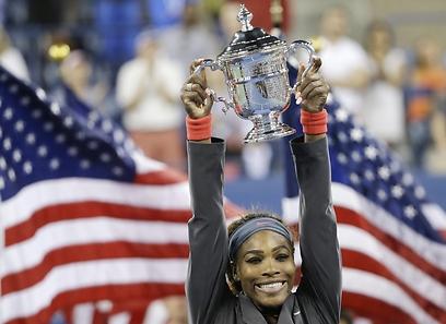 סרינה וויליאמס. 4 הפסדים בלבד בכל 2013 (צילום: AP) (צילום: AP)