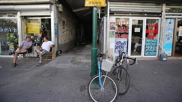 דרום תל-אביב (צילום: ירון ברנר)