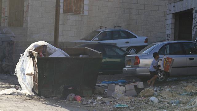Palestinian children living in East Jerusalem (Photo: Gil Yohanan)
