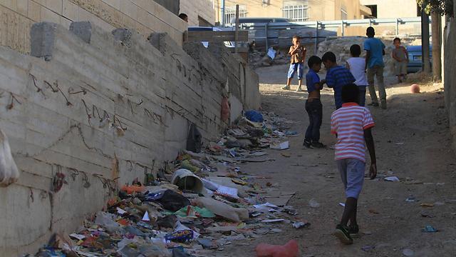 Arab children in East Jerusalem (Photo: Gil Yohanan)