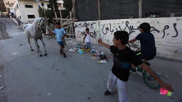 Youth in East Jerusalem (Photo: Gil Yohanan) (Photo: Gil Yochanon)