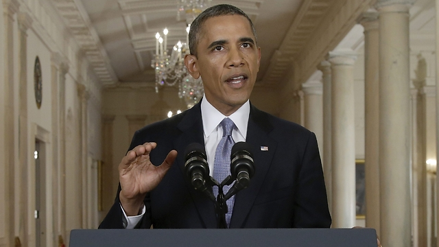 Obama addressing Americans (Photo: AP)