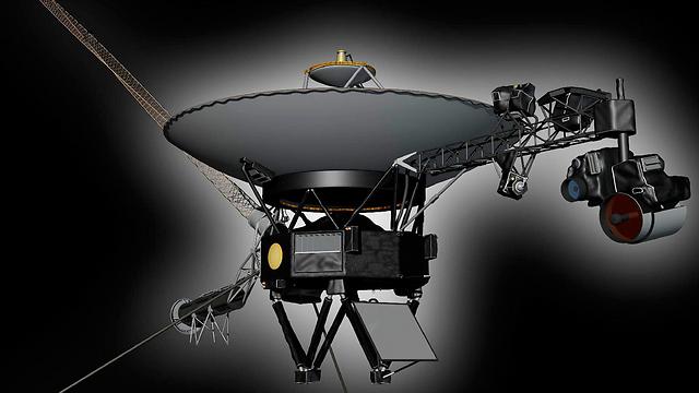 הדמיה של וויאג'ר 1 (צילום: רויטרס) (צילום: רויטרס)