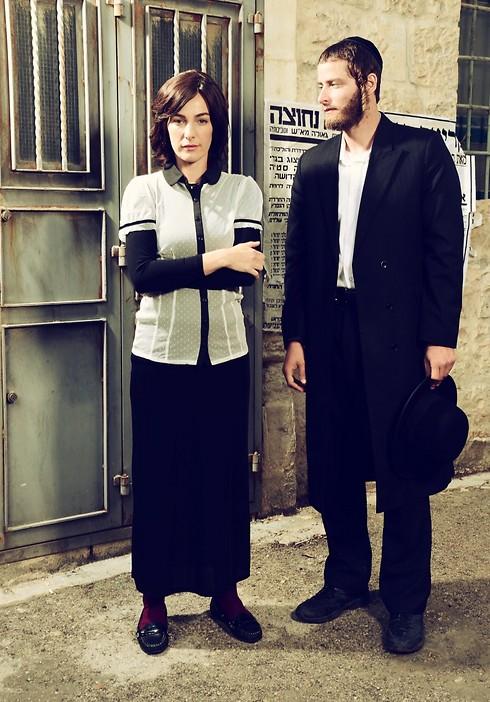 מיכאל אלוני ואיילת זורר. סיפור אהבה בלתי אפשרי (צילום: רונן אקרמן)