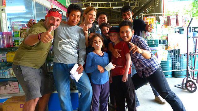 הילדים למדו שיש בעולם עוד אנשים פרט לישראלים וליהודים (צילום פרטי) (צילום פרטי)