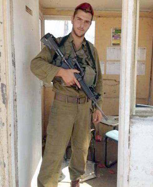 """""""מדינה שאפשר לסמוך עליה שתגן עלינו"""". שמאול בשירות הצנחנים (צילום: דובר צה""""ל) (צילום: דובר צה"""
