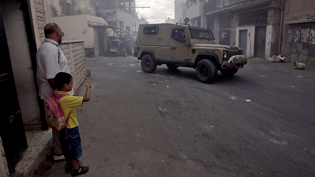 IDF forces in Jenin refugee camp (Photo: AP)