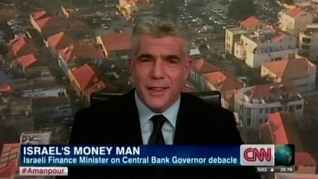 רואה עצמו מתמודד לראשות הממשלה. לפיד בראיון לרשת CNN (צילום: CNN) (צילום: CNN)