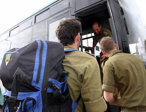 שחרור 100 אלף חיילי מילואים וביטול תעסוקות מבצעיות (ארכיון) (צילום: רועי עידן) (צילום: רועי עידן)