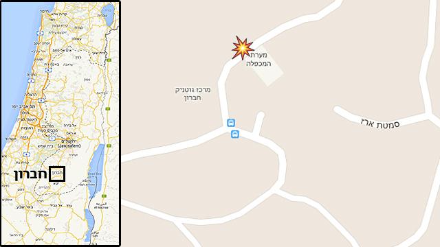 אזור הירי (צילום: google maps) (צילום: google maps)