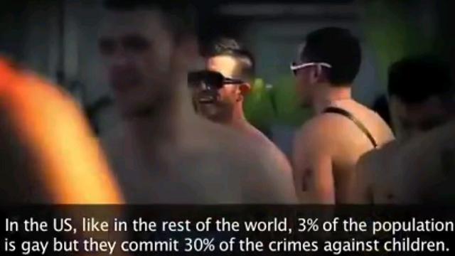 """מתוך סרטון ויראלי ברוסיה - """"הומואים מאמצים ילדים כדי לאנוס אותם"""" ()"""