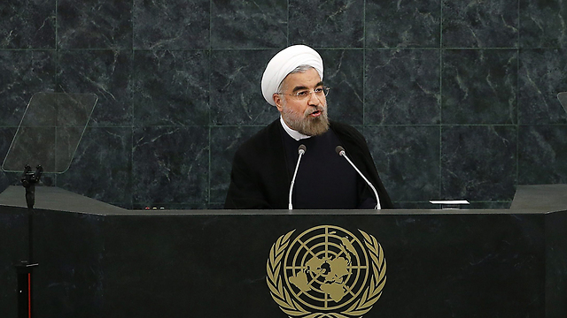 Rohani speaking at UN General Assembly (Photo: AFP)