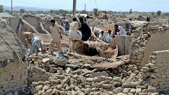 רעידת האדמה האדירה גרמה גם לקטל - 285 הרוגים לפחות ()