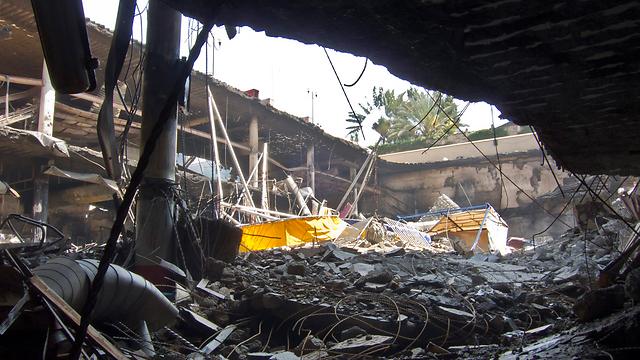 Wreckage at Nairobi mall (Photo: AP)