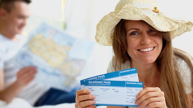 גם על כרטיסי הטיסה מגיע לכם פיצוי, לפעמים (צילום: shutterstock) (צילום: shutterstock)