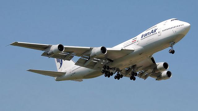 Iran Air airplane