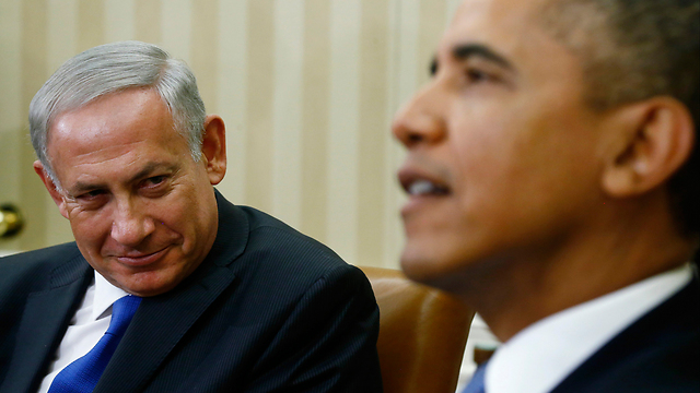 Netanyahu and Obama (Photo: AP) (Photo: AP)