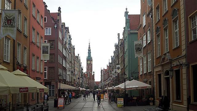 מרהיבה ביופייה עם היסטוריה מרתקת. רחובות גדנסק (צילום: גלעד מורג)